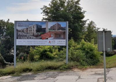 grafika, tisk a výlep billboardu HPR